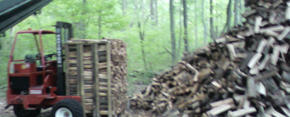 Wood Ready for Stacking