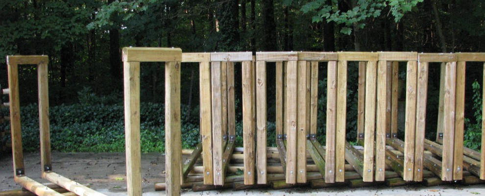 Firewood Racks - Consolodated