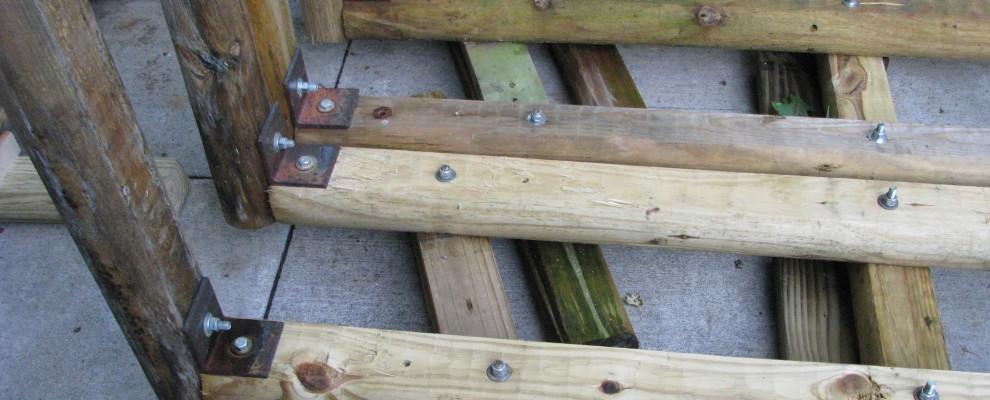 Wood Rack Legs